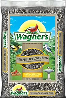 Wagner's 62028 Striped Sunflower Seed, 5-Pound Bag
