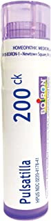 Boiron Pulsatilla 200CK, 80 Pellets, Homeopathic Medicine for Colds