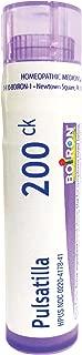 Boiron Pulsatilla 200CK, 80 Pellets, Homeopathic Medicine for Colds