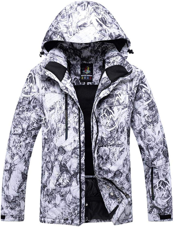 SunFlower6666 2018 Men's Outdoor Sports Ski Anti-Wind and Waterproof Professional colorful Snowboard Ski Jacket