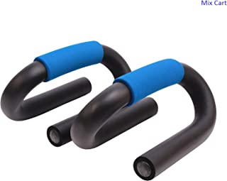 Fitness Push up Bar S Shape (Black)