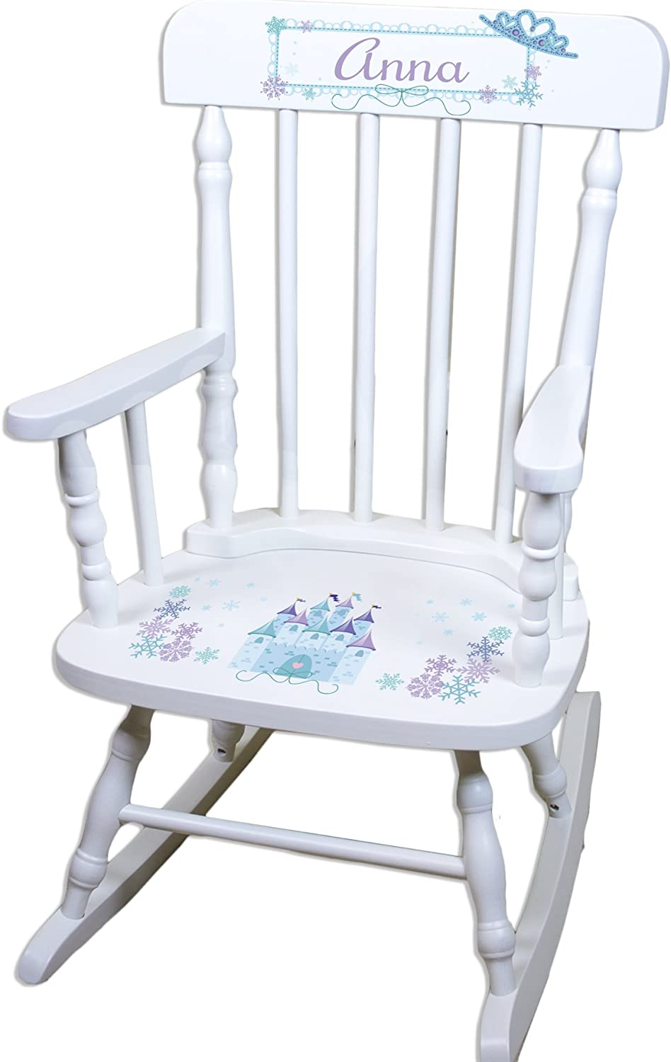Max 57% OFF Children's Personalized White Ice Max 53% OFF Princess Rocking Chair