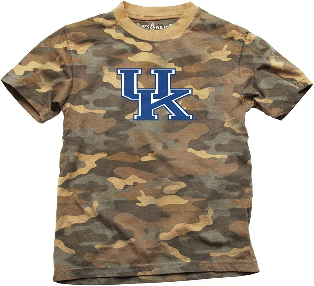 Kentucky Wildcats Boy's Camo Tee