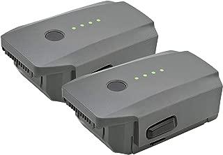 ExpertPower High Capacity (11.4V 3830mAh) Intelligent Flight Replacement Battery for DJI Mavic Pro, Mavic Pro Platinum & Mavic Pro White - 2 Pack