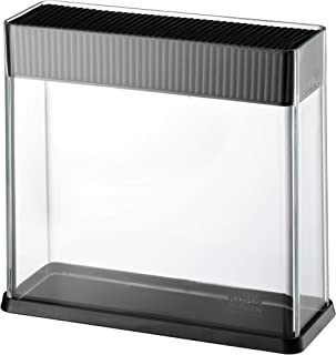 Kuhn Rikon Vision Clear Slotted Easy-to-Clean Knife Stand/Block, Rectangle ( Knife not included)