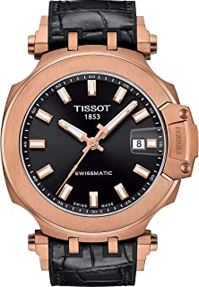 Tissot Mens T-Race Swiss Automatic Stainless Steel Sport Watch (Model: T1154073705100)