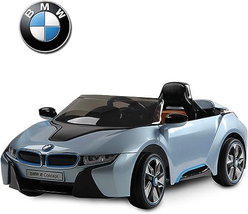 Envío y cambio gratis. BMW i8 voiture véhicule électrique électrique électrique pour enfants quad cabriolet 3-8ans 2 moteurs 12V télécommande azul neuf BU  soporte minorista mayorista