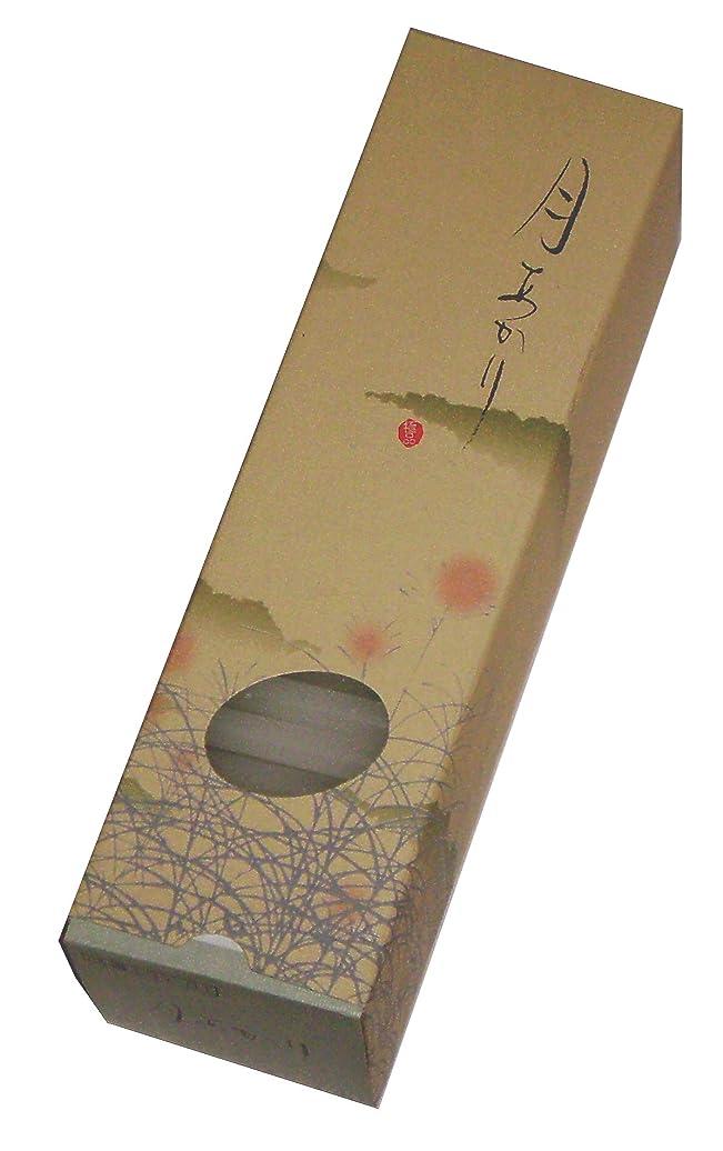 差し引く埋め込む円形の東海製蝋のろうそく 月あかり 10分約180本入