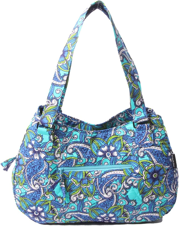 Quilted Cotton Handle Bags Shoulder Bag