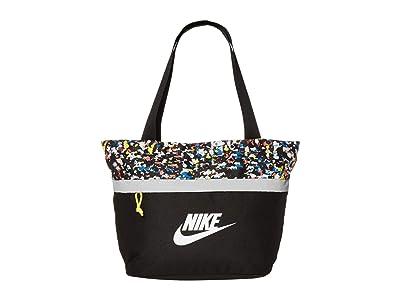Nike Kids Tanjun Tote (Little Kids/Big Kids) (Black/Optic Yellow/White) Handbags