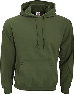 Gildan Adult Heavy Blend� Hooded Sweatshirt (Military Green) (2X-Large)
