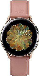 Samsung Galaxy Watch Active2, Fitnesstracker van roestvrij staal, groot display, duurzame batterij, waterdicht, 40 mm, Blu...