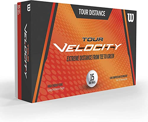 Wilson Sporting Goods Tour Velocity Distance