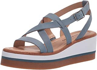Lucky Brand TICEY WEDGE صندل ويدج للنساء