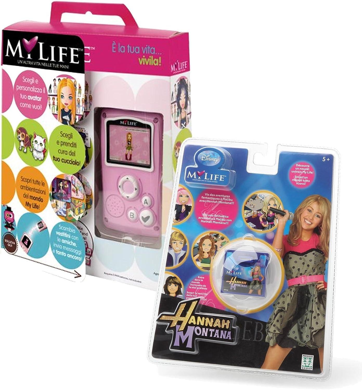 MY LIFE CONSOLLE + GIOCO HANNAH MONTANA (Bundle Kit), è la tua vita...vivila