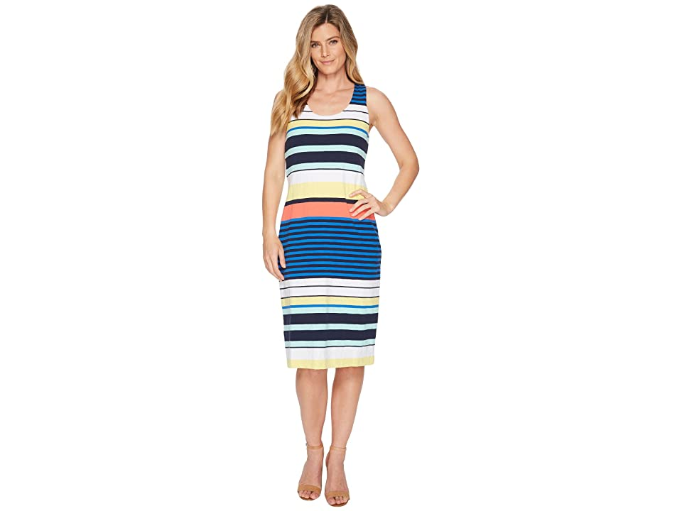 Tommy Bahama Harbour Sea Maxi Tank Dress (Cobalt Sea) Women