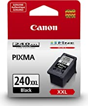Canon PG-240 XXL Black Ink Cartridge Compatible to MG2120, MG3120, MG4120, MX432, MX522, MX452, MX392, MG2220, MG3220, MG4...