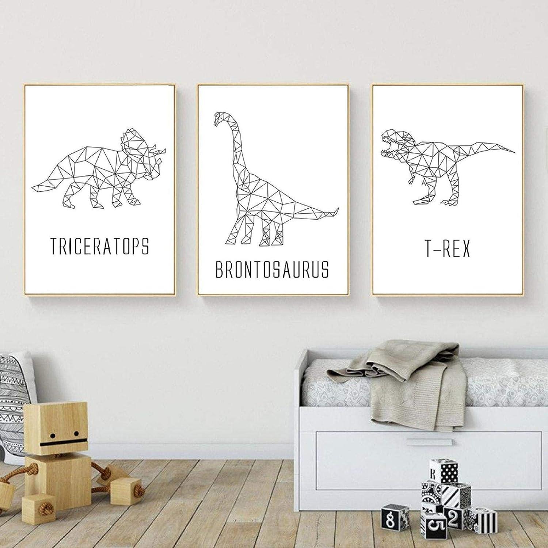 Dinosaur Geometry Portland Mall Japan Maker New Wall Art Prints Nursery Poster Dinos printable
