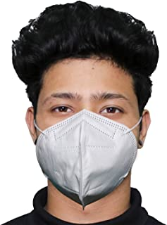 ORILEY N95 CE & ISO Certified 5 Layer Disposable Face Mask with Nose Pin for Men & Women (1 PC)