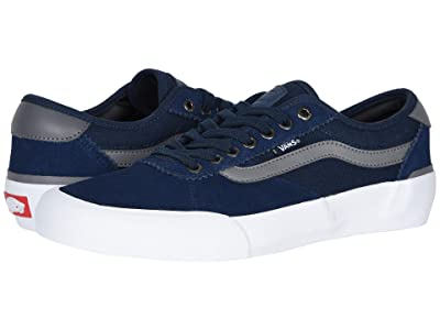 Vans Chima Pro 2 (Dress Blues/Quiet Shade) Skate Shoes