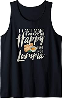 Lumpia Shirt Can't Make Everyone Happy Philippines Pinoy Tank Top