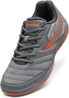 LIZARDO X1 Indoor Court Shoe for Men, Non Marking Non-Skid Grip Rubber Sole, Squash Badminton Table Tennis Indoor Cricket, Classic Comfort Sneaker