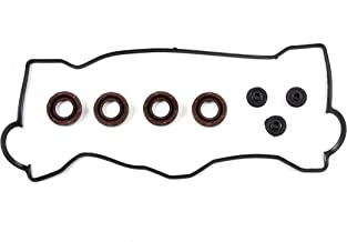 CNS VC590 Brand New Engine Valve Cover Gasket Set (With Spark Plug Tube Seals and Grommets)