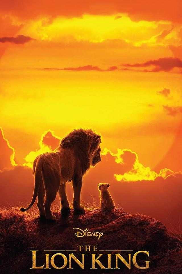 ディズニー 『ライオン・キング 』 ムファサ,シンバ iPhone(640×960)壁紙画像