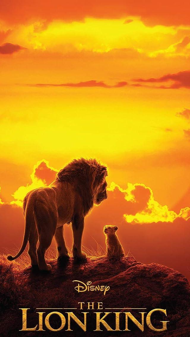 ディズニー 『ライオン・キング 』 ムファサ,シンバ iPhoneSE/5s/5c/5(640×1136)壁紙画像