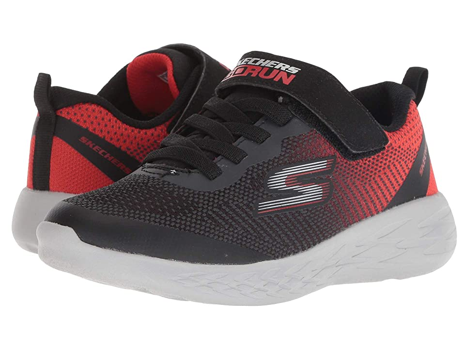 SKECHERS KIDS Go Run 600 (Little Kid/Big Kid) (Black/Red) Boy