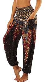 a4083fc6d Amazon.es: Pantalones Hippies