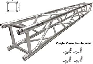 "6.56ft (2.0m) DJ Light Stand Truss 8""X8"" Straight Square Aluminum Truss Segment. Includes Coupler Connections! All New Updated Model!"