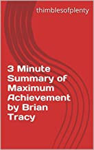 Best maximum achievement brian tracy summary Reviews