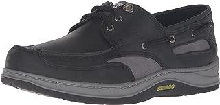 Sebago Men's Clovehitch Ii Oxford, Black Leather, 10.5 M US