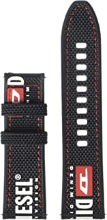 Diesel On Men's 24mm Watch Strap - compatible with Diesel On Touchscreen Smartwatches