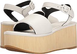 White Calf Leather