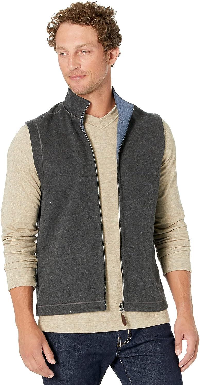 Johnston & Murphy Reversible Solid Vest