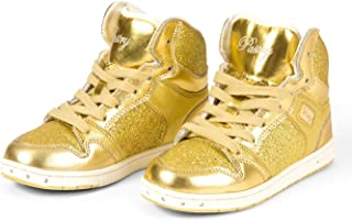 Adult Glam Pie Glitter Gold Sneakers PA133021