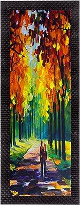 eCraftIndia 'Colourful Scenic' UV Art Painting (Synthetic Wood, 18 cm x 41 cm, Satin Matt Texture, FPGK2162_A)