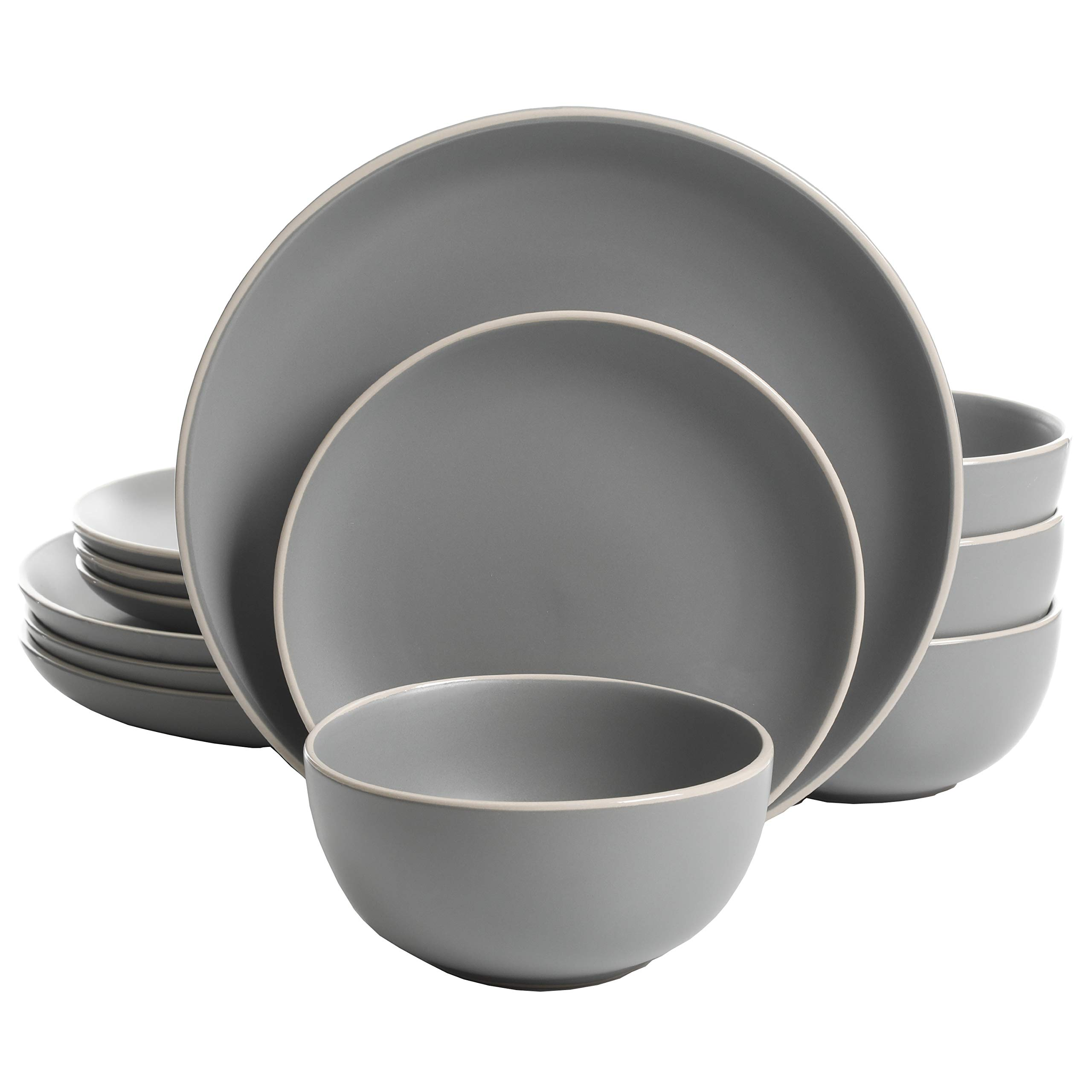 Gibson Home Rockaway Piece Dinnerware