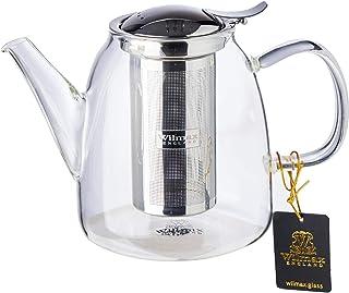 Wilmax England WL888808A Thermo Glass Tea Pot 950ml