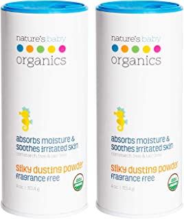 پودر گرد و غبار ابریشم USDA طبیعت ، عطر رایگان ، 4 اونس. تسکین پوست - نوزادان ، کودکان ، بزرگسالان! نرم ، نرم برای اصلاح بدن ، ارگانیک و طبیعی ، بدون مصنوعی ، نگهدارنده ، ذرت
