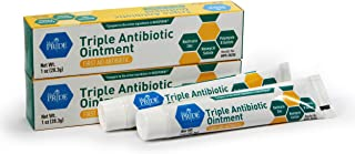 Medpride Triple Antibiotic Ointment [1 oz] | 24-Hour, First Aid Ointment for Minor Wounds, Scratches & Abrasions | Preventative Ointment with Zinc, Neomycin & Polymyxin [2 Pack]