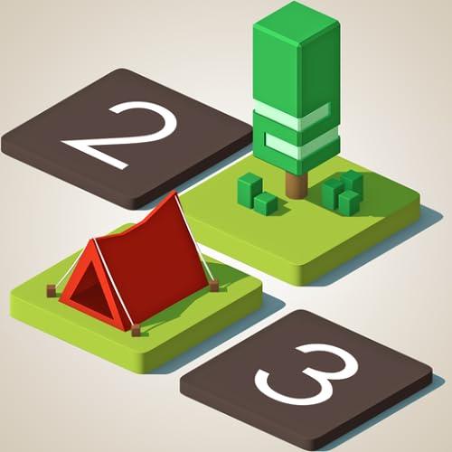 Zelte und Bäume Puzzles