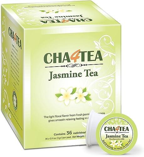 discount Cha4TEA lowest 36-Count Jasmine Green Tea Pods for Keurig sale K-Cups Brewers sale