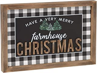Collins 'Have a Very Merry Farmhouse Christmas' Wood Sign