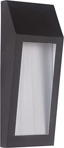 """popular Craftmade Z9302-OBO-LED Wedge Outdoor LED Pocket Sconce online Wall discount Lighting, 1-Light, 8 Watts, Oiled Bronze (5""""W x 11""""H) online"""