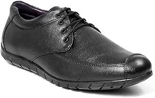 Bacca Bucci Men Genuine Leather Black Formal Shoes