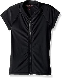Best short sleeve zip front rash guard Reviews