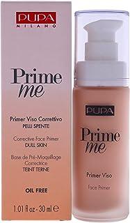 Pupa Milano Prime Me Corrective Face Primer - Pre Make-Up Face Base, Dull Looking Skin - Make-Up Last Longer and Facilitat...